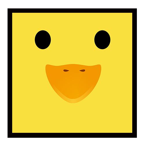 动物物语----小黄鸭便签免费设计制定