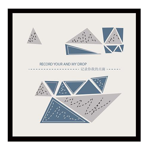 【三角形拼图便签免费设计制定】便签免费设计制作